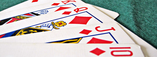 Project Euler 54: How many hands did player one win in the game of poker?